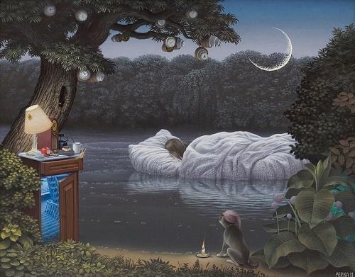 Jacek Yerka painter of the fantasy worlds (29 фото)