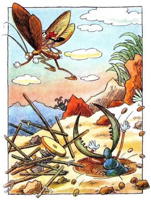Любимые художники нашего детства - чешский иллюстратор и писатель Ondrej Sekora (Секора Ондржей) (243 работ)