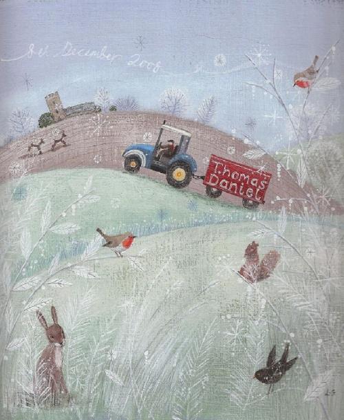Маленькие радости сельской жизни художницы Lucy Grossmith (28 фото)