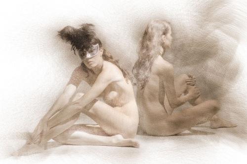 Фотосессия с стиле ню от компании Квазиграфика (153 фото)