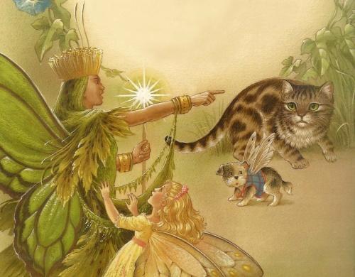 В мире сказок художника-иллюстратора Shirley Barber (49 фото)