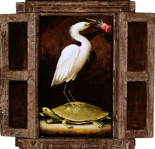 Цветы и птицы художника Кевина Слоана (26 работ)