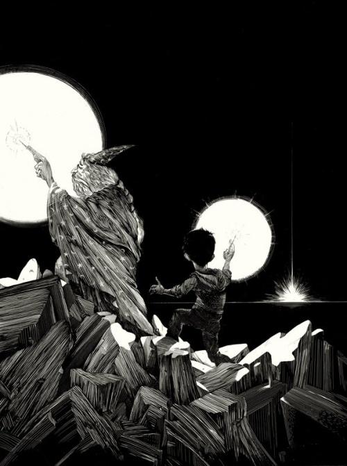 Иллюстратор Nico Delort (15 работ)