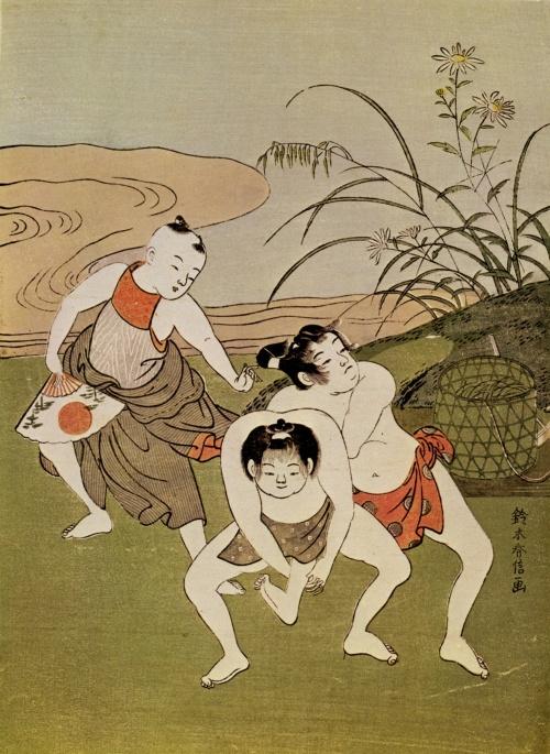 Судзуки Харунобу (Suzuki Harunobu) - японский график и живописец (29 фото)