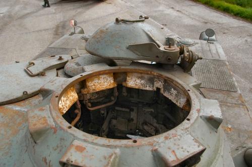 Фотообзор - французский разведывательный бронеавтомобильPanhard EBR 90 Mod.F1 (91 фото)