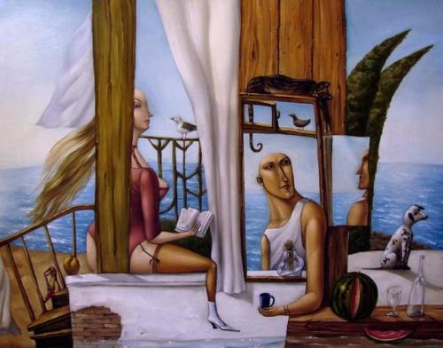 Картинки из жизни художника Анжела Джерих (24 фото)