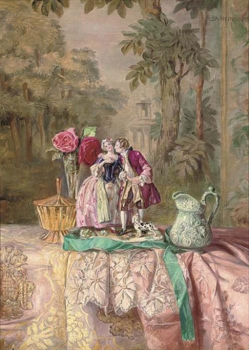Художник Lea Reinhart (1877-1970) (24 работ)