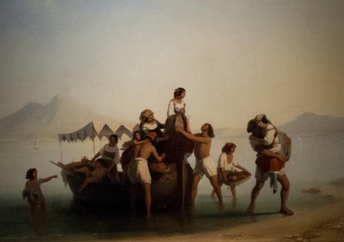 Шведский художник Egron Sillif Lundgren (1815 - 1875) (79 работ)