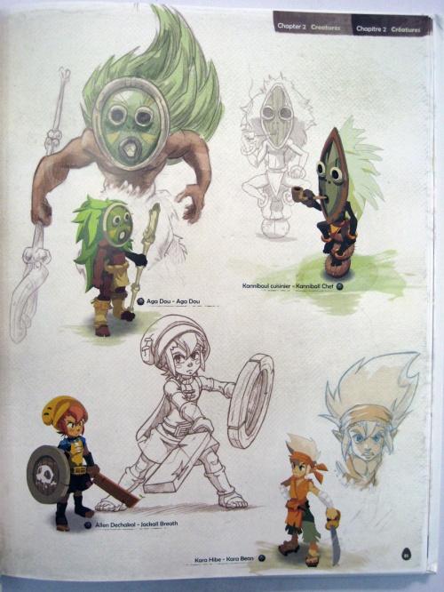 Artbook Dofus 2.0 (245 работ)