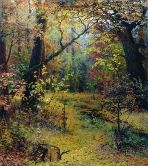 Осень в картинах русских художников (54 работ)