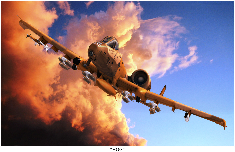 A-10 Thunderbolt II (Warthog, Hog): O canhão que voa
