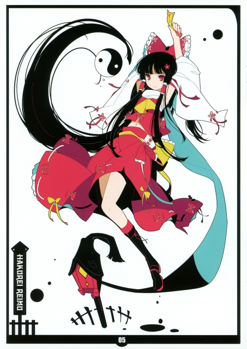 Artbooks / NEKO WORKi (ideolo) - Black Album (19 работ)