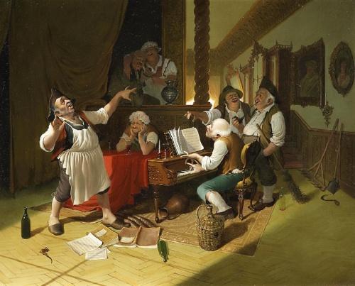 Венгерский художник Vida Gabor (1937-1999) (18 работ)