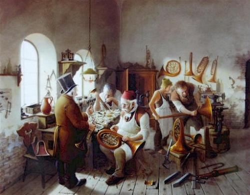 Венгерский художник Vida Gabor (1937-1999) (18 фото)