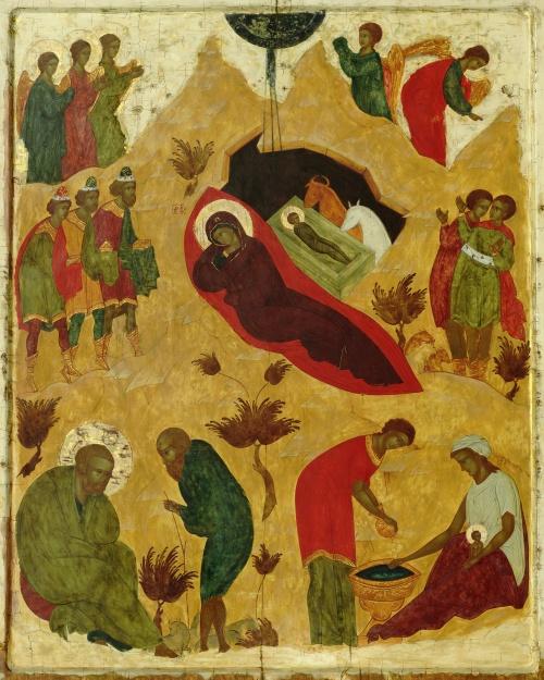 Русская икона. Феофан Грек, Андрей Рублев, Дионисий (403 фото)