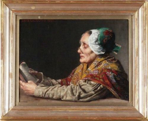 Финский художник Arvid Liljelund (1844-1899)