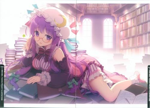 Artbooks / Wind Mail (An2a) - Petite Fatal 5th (C79) (10 работ)