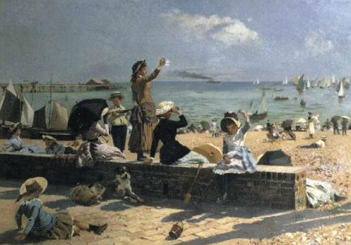 Английский художник Alexander Mark Rossi (1840-1916)