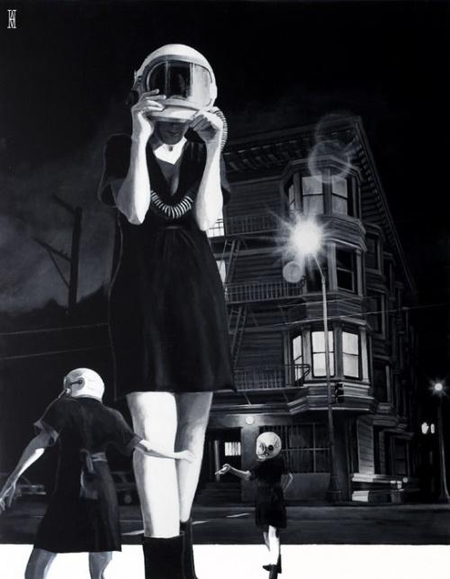 Artworks by Alec Huxley (113 фото)