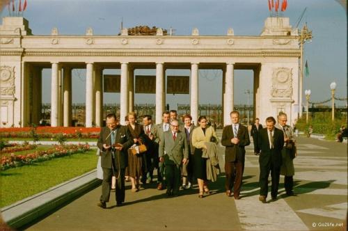 Москва 1956 года, глазами француза Жака Дюпакье (38 фото)