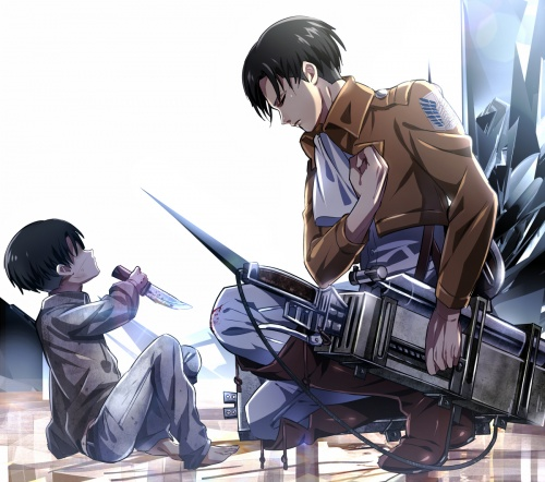 Art - Attack on Titan (151 фото)