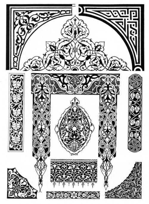 #TD_детали_и_текстуры@tutorials_drawing. 1-2 - Арабы 3- Африка 4-5 Византи
