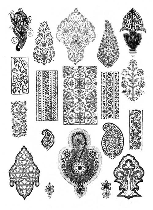 Татарская вышивка орнаменты и узоры - вязание поделки фото #2