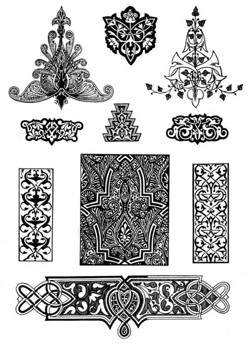 Арабские Орнаменты И Узоры