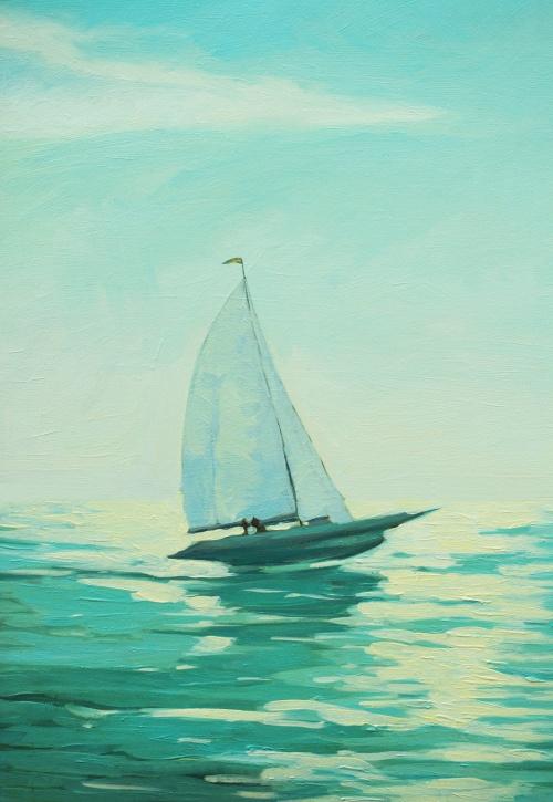 Морские и венецианские пейзажи в работах художника Mikhail Zahranichny (57 фото)