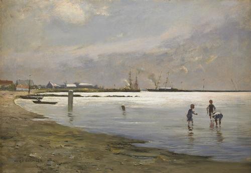 Шведский художник Hugo Salmson (1843-1894) (30 работ)