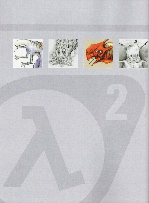 Перепост: Half Life 2 Raising The Bar Official Guide and Artbook (276 фото)