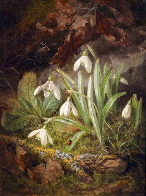 Натюрморты Josef Lauer (Austrian, 1818 - 1881) (23 работ)