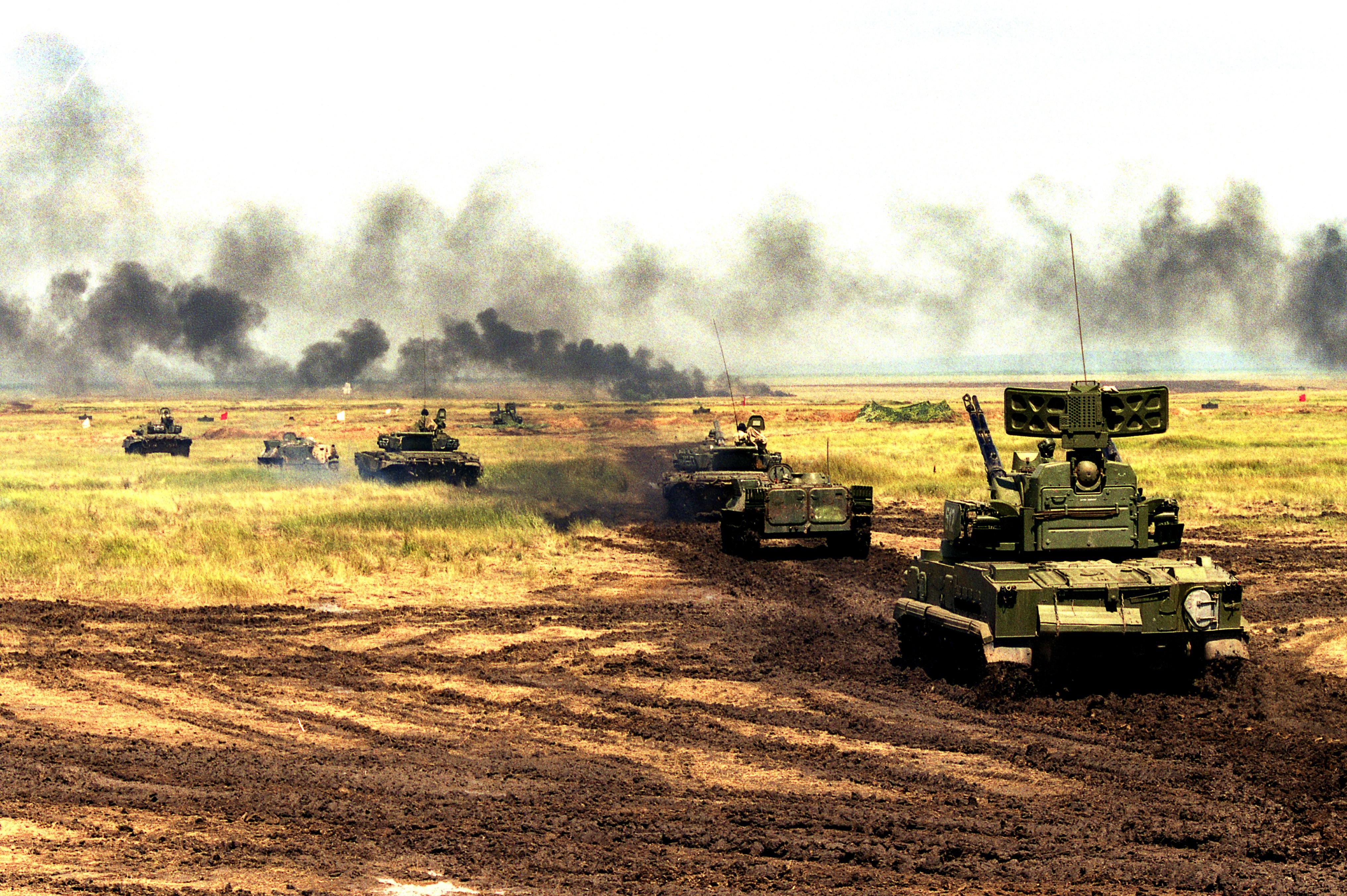 Тунгуска против Авенджера. Чье ПВО круче