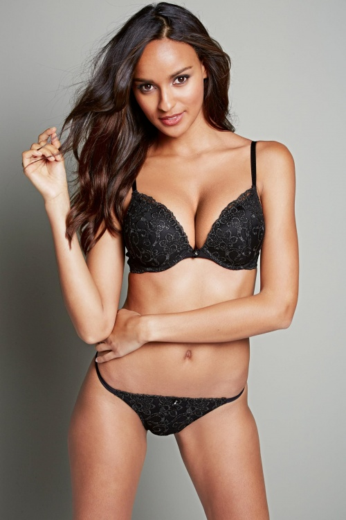 Gracie Carvalho - Next Lingerie & Sleepwear Fall-Winter 2013-2014 (53 фото) (эротика)