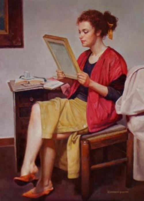 Художник Giovanni Parlato (62 фото)