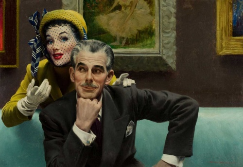 American painting of ХХ century | Американская живопись ХХ века (61 фото)