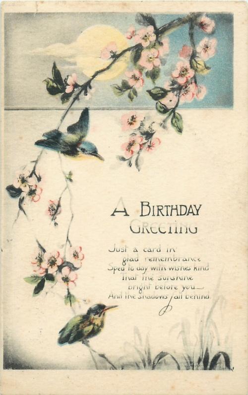 Открытки винтажные - Птицы 2 (89 открыток)