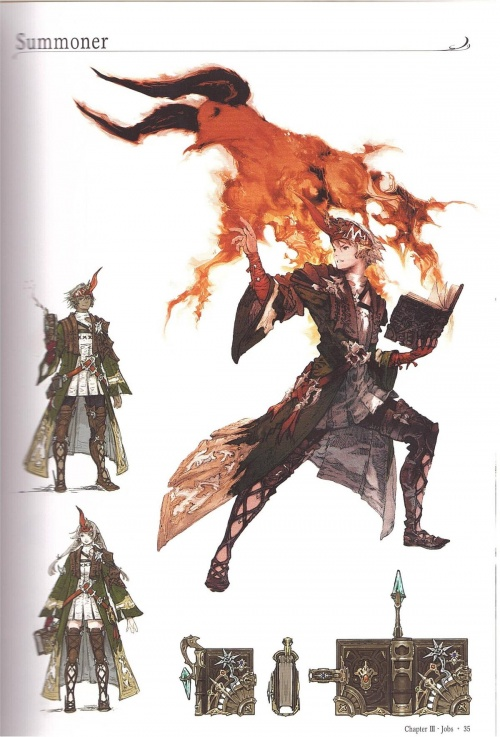 Final Fantasy XIV: A Realm Reborn Visual Artbook (81 фото)