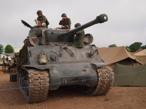 Tankfest 2013 - Техника Второй Мировой (61 фото)