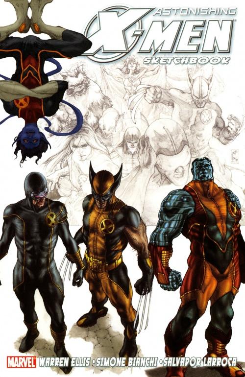 Astonishing X-men Sketchbook (33 работ)
