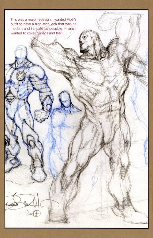 Astonishing X-men Sketchbook (33 фото)