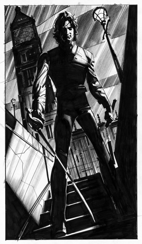 Artworks by John Watkiss (69 фото)