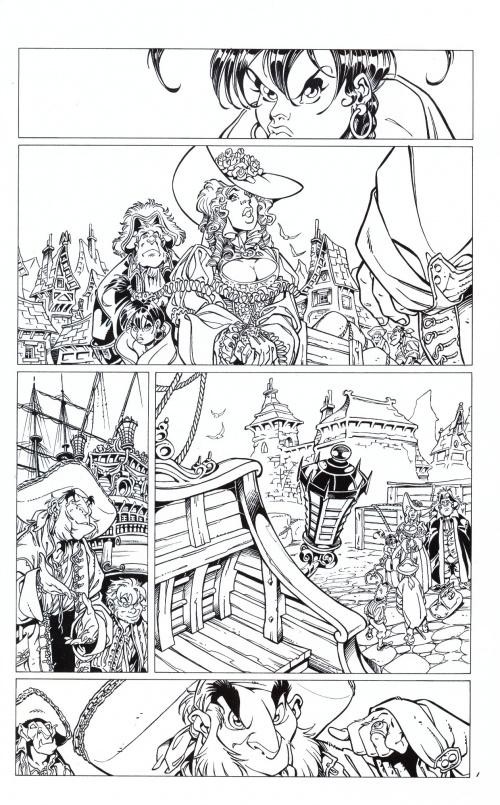 The Art of Tellos Crisse Sketchbook (21 работ)