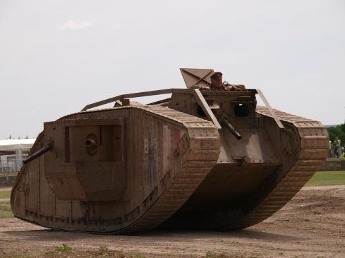 Tankfest 2013 - Техника Первой Мировой (23 фото)