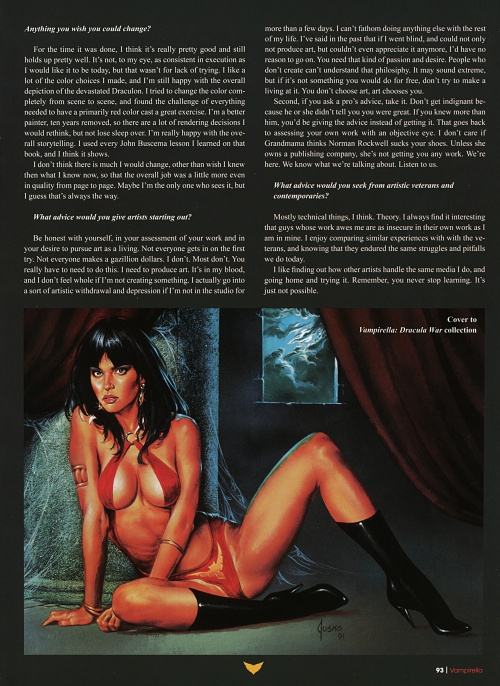 The Art of Vampirella (230 работ)