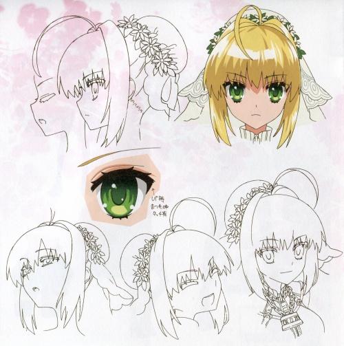 Artbooks / Fate/EXTRA CCC EXTRA Garden (38 работ)