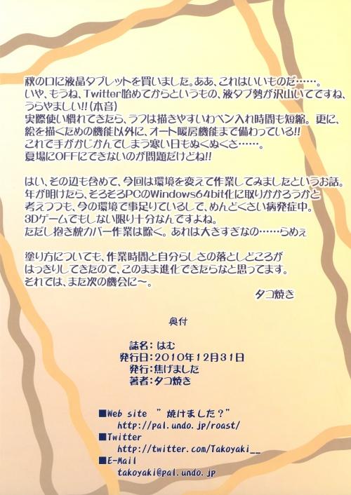 Artbooks / Kogemashita (Takoyaki) - hamu (C79) (17 фото)