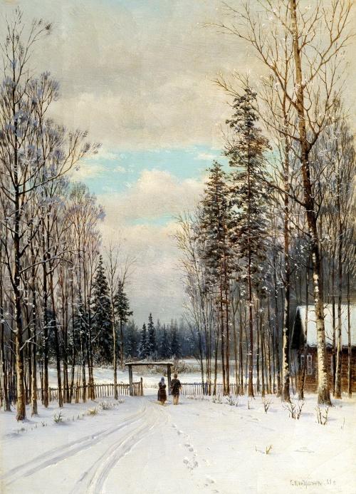Картины великих русских художников - Пейзажная живопись (140 работ)