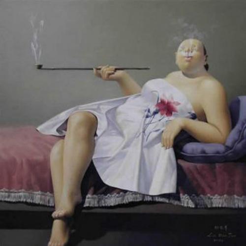 Artist Liu Baojun (34 работ)