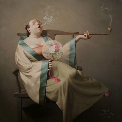 Artist Liu Baojun (34 фото)